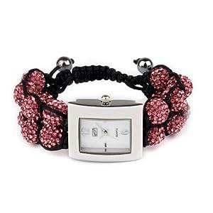 Eton 3019L-PK – Reloj para Mujer, Correa de Otros Materiales Color Rosa