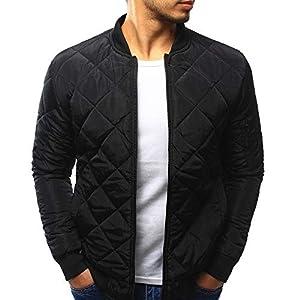 VRTUR Herren Winter Mantel Warm Jacke Schlank Passen Dick Mantel Beiläufig Jacke Oberbekleidung Oben Bluse Oberteile Outwear