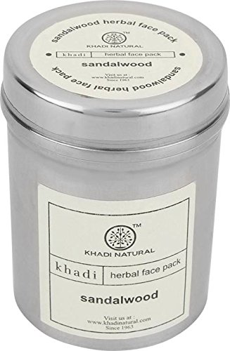 Khadi Sandalwood Face Pack 50Gm.  available at amazon for Rs.80