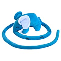 SweChe Plush Elephant Toy in Gift Box For Measure and Play (Blue)