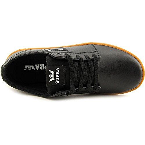 Supra STACKS II  Unisex-Erwachsene Sneakers Black Gum
