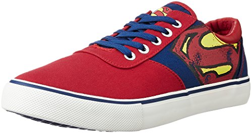 Superman Men's Blue Sneakers - 11 UK/India (46 EU)