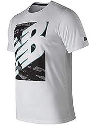 2d7702b63ade6 Amazon.es  New Balance - Camisetas y tops   Hombre  Deportes y aire ...