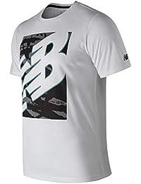 8894989e173 New Balance Camiseta NB HEATHERTECHT Hombre