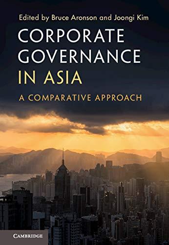 Corporate Governance In Asia: A Comparative Approach por Bruce Aronson epub
