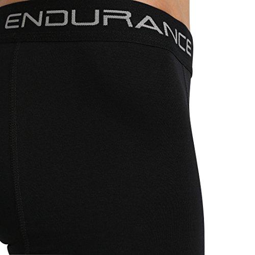 Ultrasport Endurance Herren Boxershorts Burke 3er-Pack Schwarz