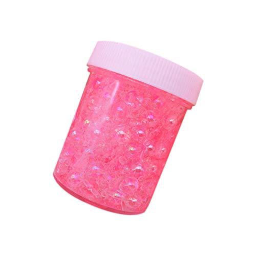 Sulifor Dekompressionsschlamm, schöne Perle Bunte Perlen Mucus Spachtelduft Druck Kinder Schlamm Spielzeug 120 ()