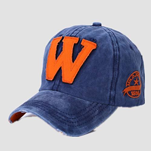 Zhuzhuwen berretto da baseball han chao coppia lettera cappello vecchio berretto outdoor sunshine street dance cap 4 56-62cm