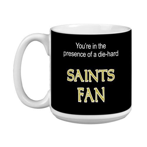 Tree Free Grußkarten, 20 oz Saints Fußball Fan raffinierter Jumbo Becher/Tasse, bunt (New Orleans Kaffee-tasse)