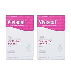 Viviscal Woman Maximum Strength 2 Packs of 60caps