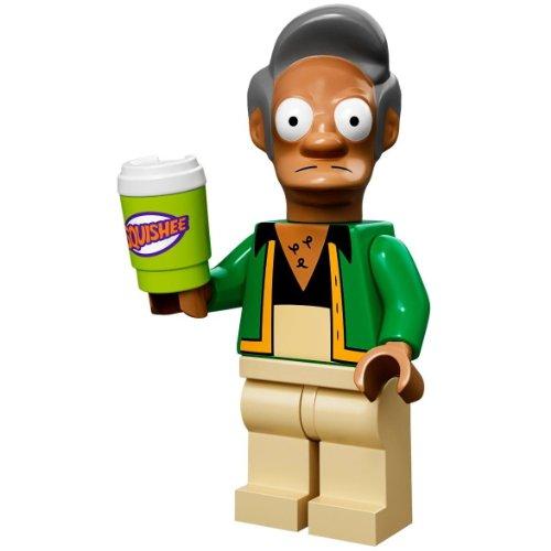 LEGO 71005 - Minifigur Apu Nahasapeemapetilion aus der Sammelfiguren-Serie The Simpsons (Apu-serie)