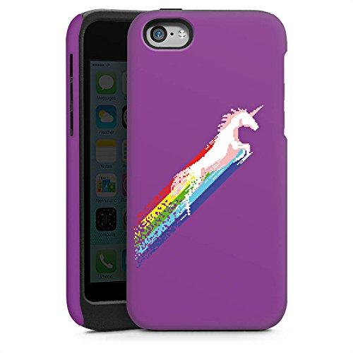 Apple iPhone 4 Housse Étui Silicone Coque Protection Licorne Licorne Licorne Cas Tough brillant