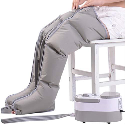 Foot Massage Pressoterapia Massaggi Gambe Cosce Polpacci Migliora Circolazione Sangue per Gamba Agitata, Dolore Muscolare, Linfedema, L\'edema Fauay