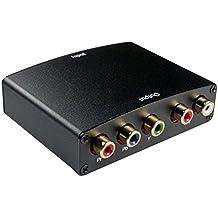 Esamconn® HDMI a YPbPr Componente RCA AV Video + R / L Convertidor de Audio Adaptador 1080p para Wii. PS2, XBOX360, STB, DVD, HDTV y más