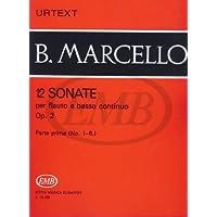 12 Sonate op. 2  per flauto e basso continuo - Parte prima (No. 1 - 6)