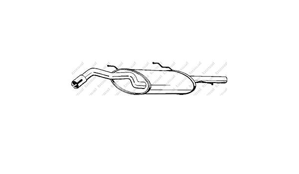 Bosal 279-239 Endschalld/ämpfer
