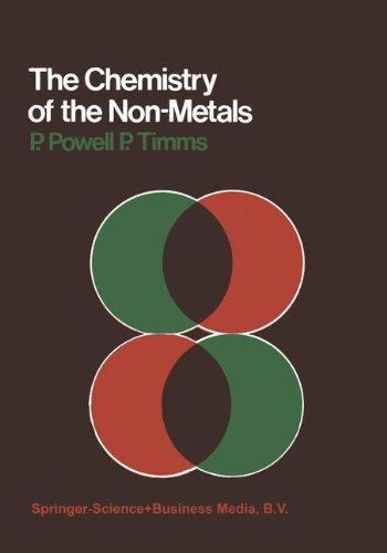 The Chemistry of the Non-Metals (Chapman and Hall chemistry textbook series)