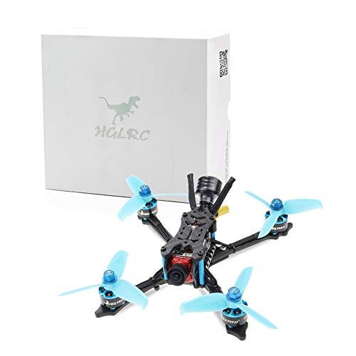 CHOULI HGLRC Arrow 3 FPV Racing Drohne 6S BNF Quadcopters Mit Flysky A8S V2 Empfänger Blau-Schwarz -