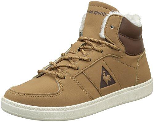 Le Coq Sportif Unisex-Kinder Rebond Mid Gs Sneakers Braun (Tan/Mustang/MarshmalTan/Mustang/Marshmal)