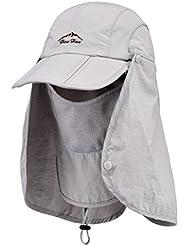 Outdoor Sport Randonnée Pêche PAC cou visage travler Sun Protection Bloc Rabat Hat