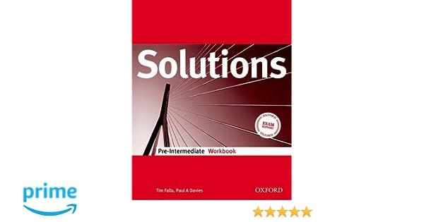 Гдз solutions pre-intermediate workbook 8 класс