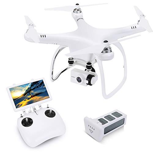 UPair One Drone con Cámara 16MP 4K 5.8G FPV Quadcopter 2-Axis Gimbal Fotografía aérea Profesional GPS Helicóptero RTF