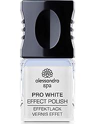 Spa Pro White Nail Effect Polish - Optisch aufhellender Nagellack gegen Verfärbungen der Nageloberfläche, 10 ml