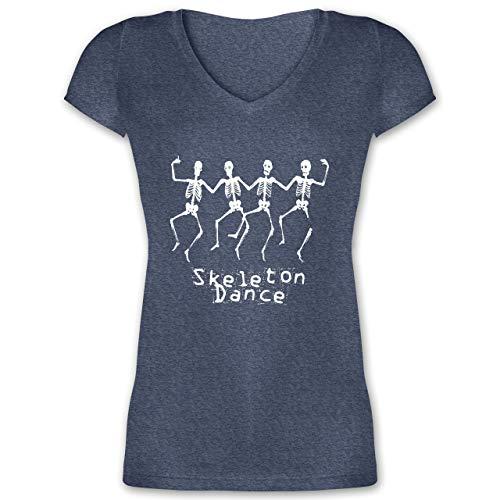 Halloween - Skeleton Dance Skelett Tanz - XL -