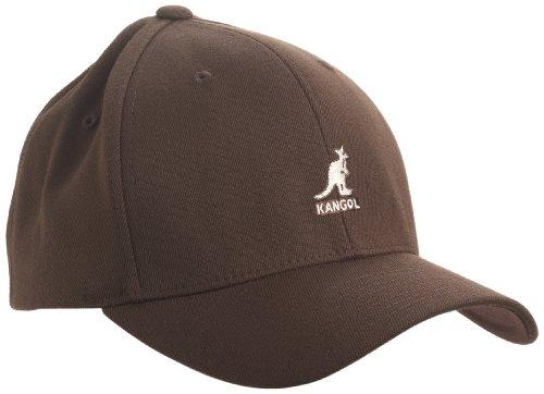 Kangol Wool Flexfit Casquette de Baseball, Marron, Small (Taille Fabricant:Small/Medium) Mixte