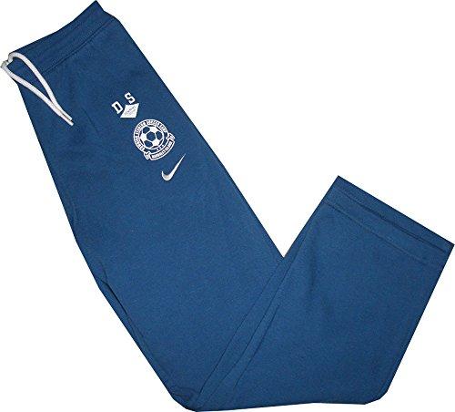 Nike Brushed Fleece Pant Soccer Camp Hose Trainings- Jogginghose Blau 80% Baumwolle 20% Polyester Größe Little Boys` XS = 98-104 cm / 3-4 Jahre (Kids Nike Fleece)
