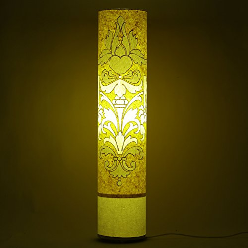 cartouche-pattern-yellow-white-paper-shade-bedroom-long-floor-light-hom-office-night-lamp