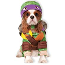 Rubie 's Offizielles Pet Dog Kostüm, Donatello, Teenage Mutant Ninja Turtles – Medium