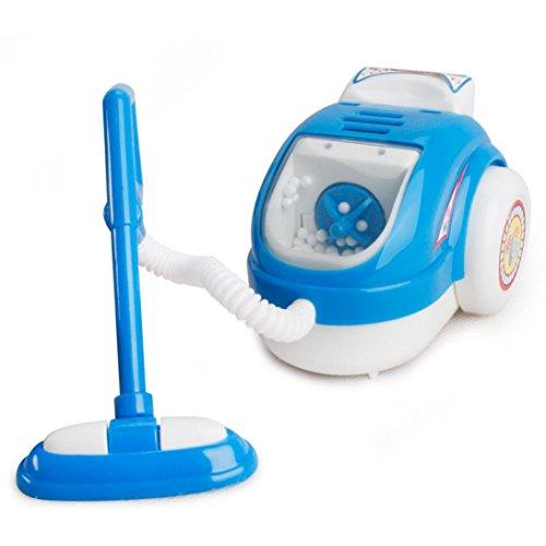 Baby Haushaltsgeräte Küche Spielzeug Upxiang Kid Simulation Mahlzeit Küchengeräte Küchengeräte Kategorie Entwicklungspädagogische Pretend spielen Spielzeug Kinder Geschenk (Staubsauger/Blau) (Spielen Küche Baby)