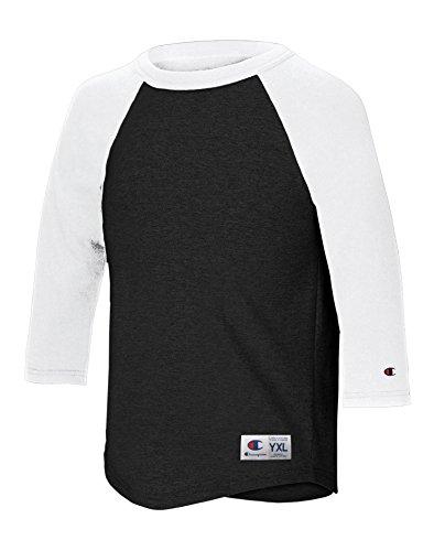 champion-t-shirt-manches-3-4-garcon-multicolore-medium