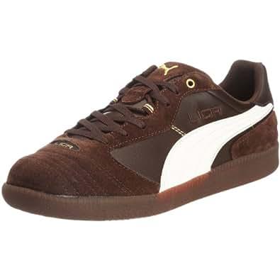 PUMA Liga Finale Sala 102037, Herren, Sneakers, Braun (chocolate brown-whisper white-team gold 03), EU 40 (UK 6.5) (US 7.5)