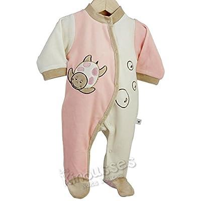 Kinousses - Pijama de terciopelo, diseño de Fourmizzz, para niña