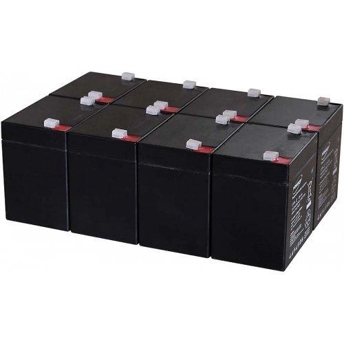 akku-net Blei-Gel-Akku für USV APC Smart-UPS XL Modular 3000 Rackmount/Tower 5Ah 12V, 12V, Lead-Acid (Xl Rackmount)