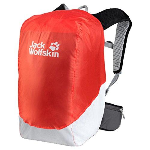 Jack Wolfskin Sicherheit 14–20L Rucksack Regen Cover, Lava Orange (Verwendet The North Face Rucksack)