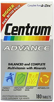 Centrum Advance Multivitamin Tablets - Pack of 180 from Pfizer Consumer Healthcare