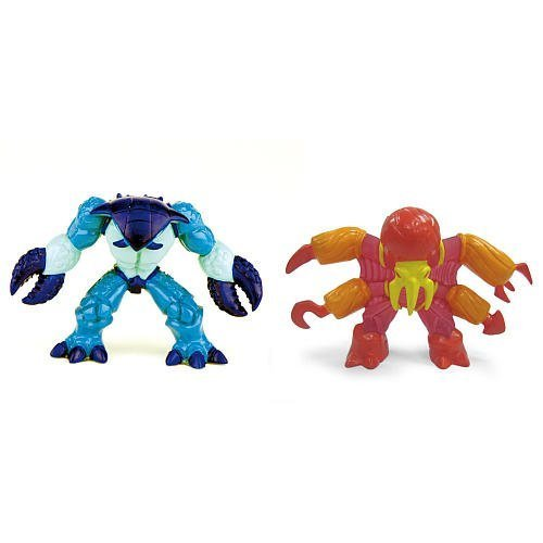 Gormiti Series 1 Action Figure 2-Pack - Goad the Elusive & Mimic the Fast by Playmates