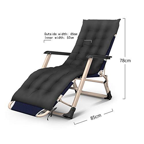 ZLL Fitness-Stuhl, Hantelbank-Liegestuhl Klappbare Lounge-Stühle - tragbar Kostenlose Installation 3 Klappbare Betten Stühle/Doppelbetten/Einzelbetten/Büro-Lazy-Betten // Krankenhausbetten/Br