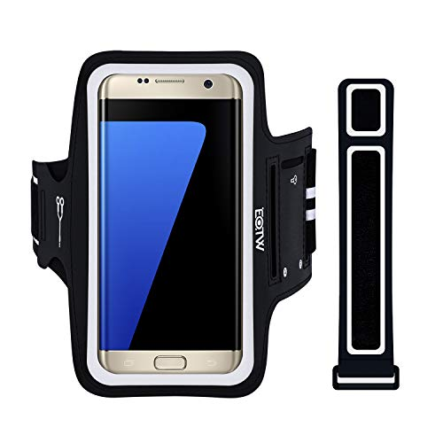 EOTW Fascia da Braccio Sportiva Samsung Galaxy S7/S6/S6 edge/S5/S4,Portacellulare Running Armband per Smartphone Huawei p7/5s/Honor 6 Samsung Moto da Corsa Maratona Palestra Jogging