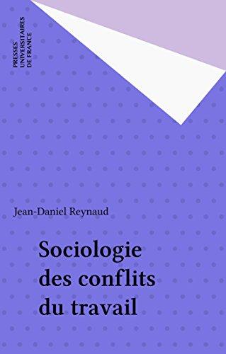 Sociologie des conflits du travail