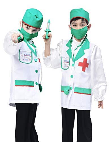 IKALI Disfraz de Doctor de niños