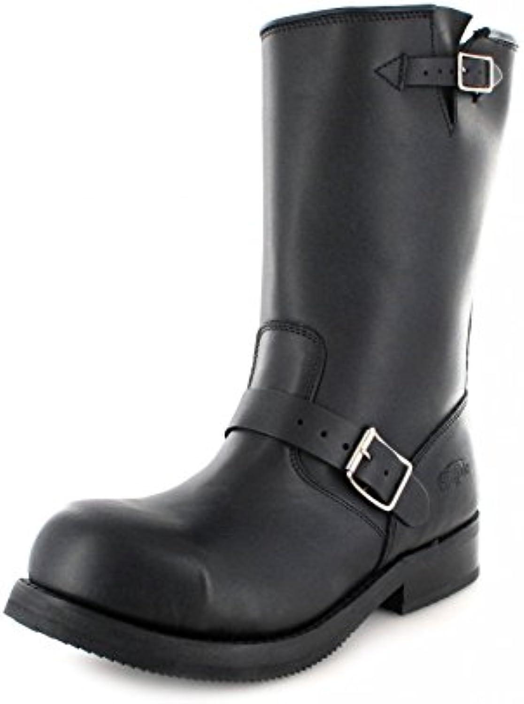 FB Fashion Boots 1808-a - Botas de Piel para hombre negro negro