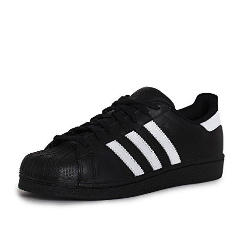 Adidas Superstar, Sneaker Unisex Adulto, Nero (Cblack/Ftwwht/Cblack), 42 2/3