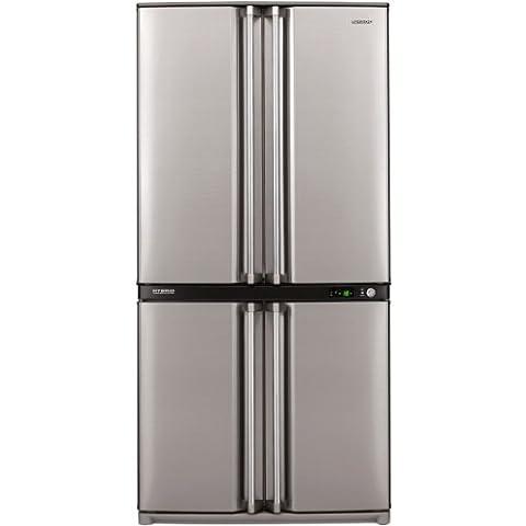 Sharp SJ-F790STSL frigo américain - frigos américains (Autonome, Acier inoxydable,