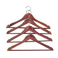 Household Essentials CedarFresh Deluxe Cedar Coat Hanger with Fixed Bar