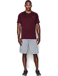 Under Armour Herren Tech Short Sleeve Tee Kurzarmshirt, Dark Maroon/Graphite, XL