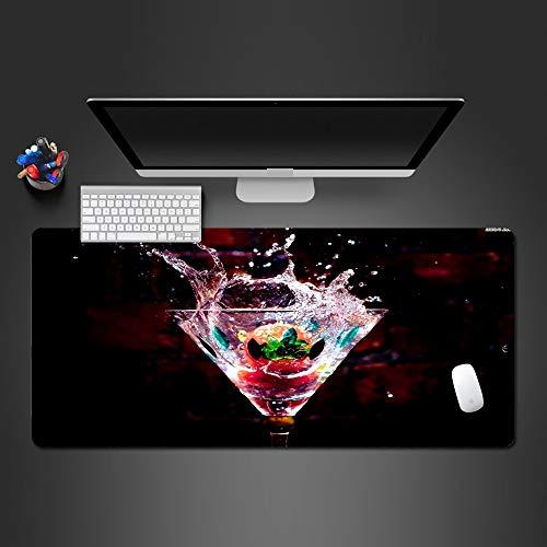Erweiterte Bild Von Obst Wein Mauspad Waschbar Pc Spiel Mauspad Computer Tastatur Pad Gaming Mauspad Zu Gamer 700X300X3Mm